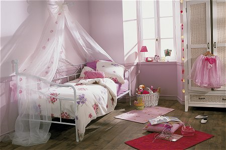 Dormitorio infantil conforama for Chambre petite fille alinea